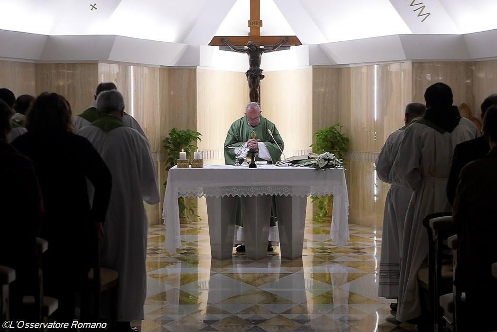 Папа Франциск: Царство Божье растёт со смирением