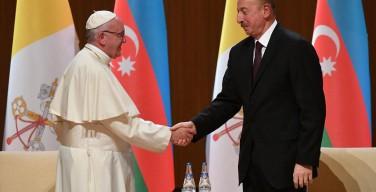 Папа встретился с политическим руководством Азербайджана
