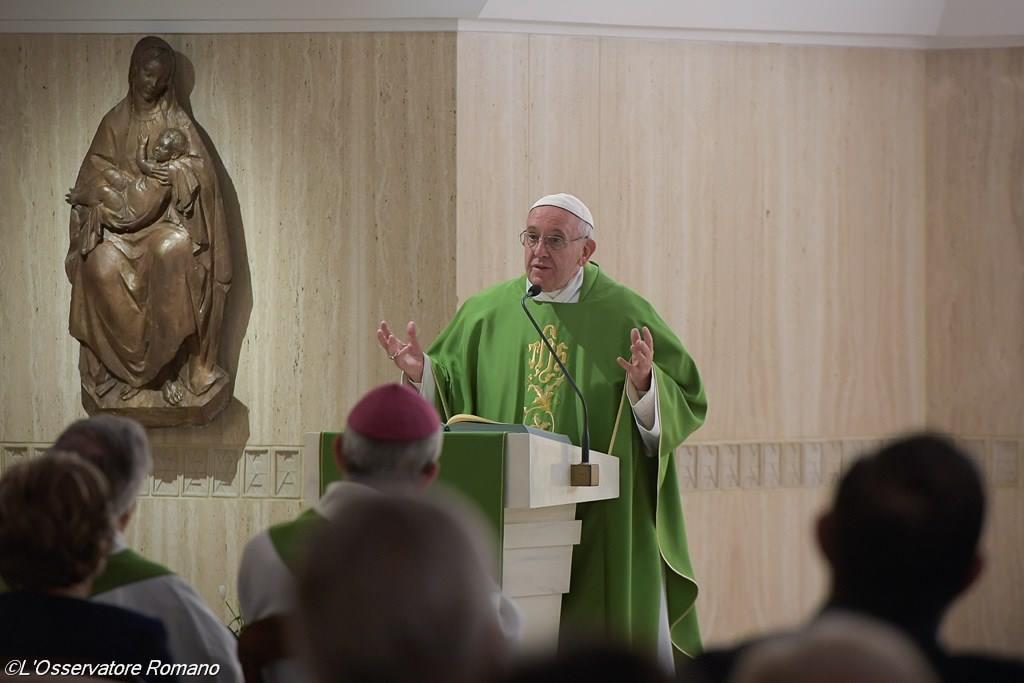 Папа: христиане должны быть 'парусниками', всегда открытыми веянию Святого Духа