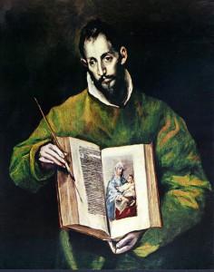 Эль Греко. Евангелист Лука