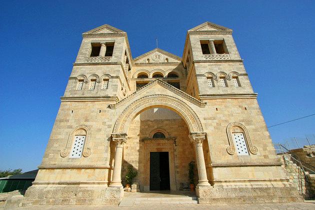 Святая земля: осквернена францисканская базилика на горе Фавор