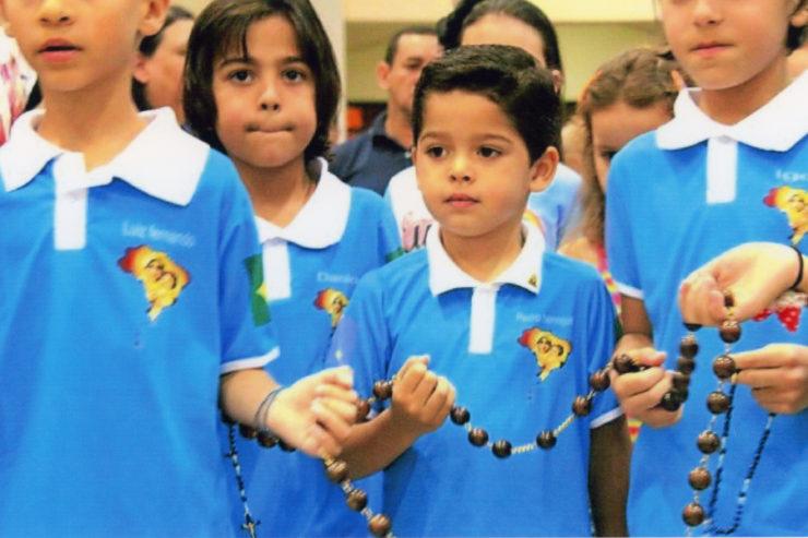 Миллион детей объединились в молитве о Сирии