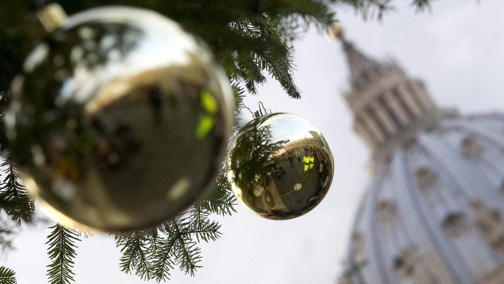 Ватикан начинает готовиться к Рождеству Христову