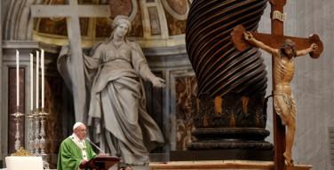 Последний аккорд завершающегося Юбилейного Года Милосердия: Папа Франциск обратился к нищим и отверженным