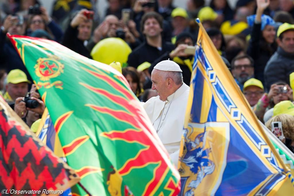 Последняя юбилейная аудиенция. Папа: Бог никого не исключает