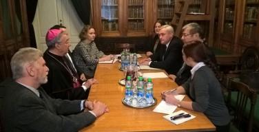 Визит делегации ватиканских архивистов в Россию