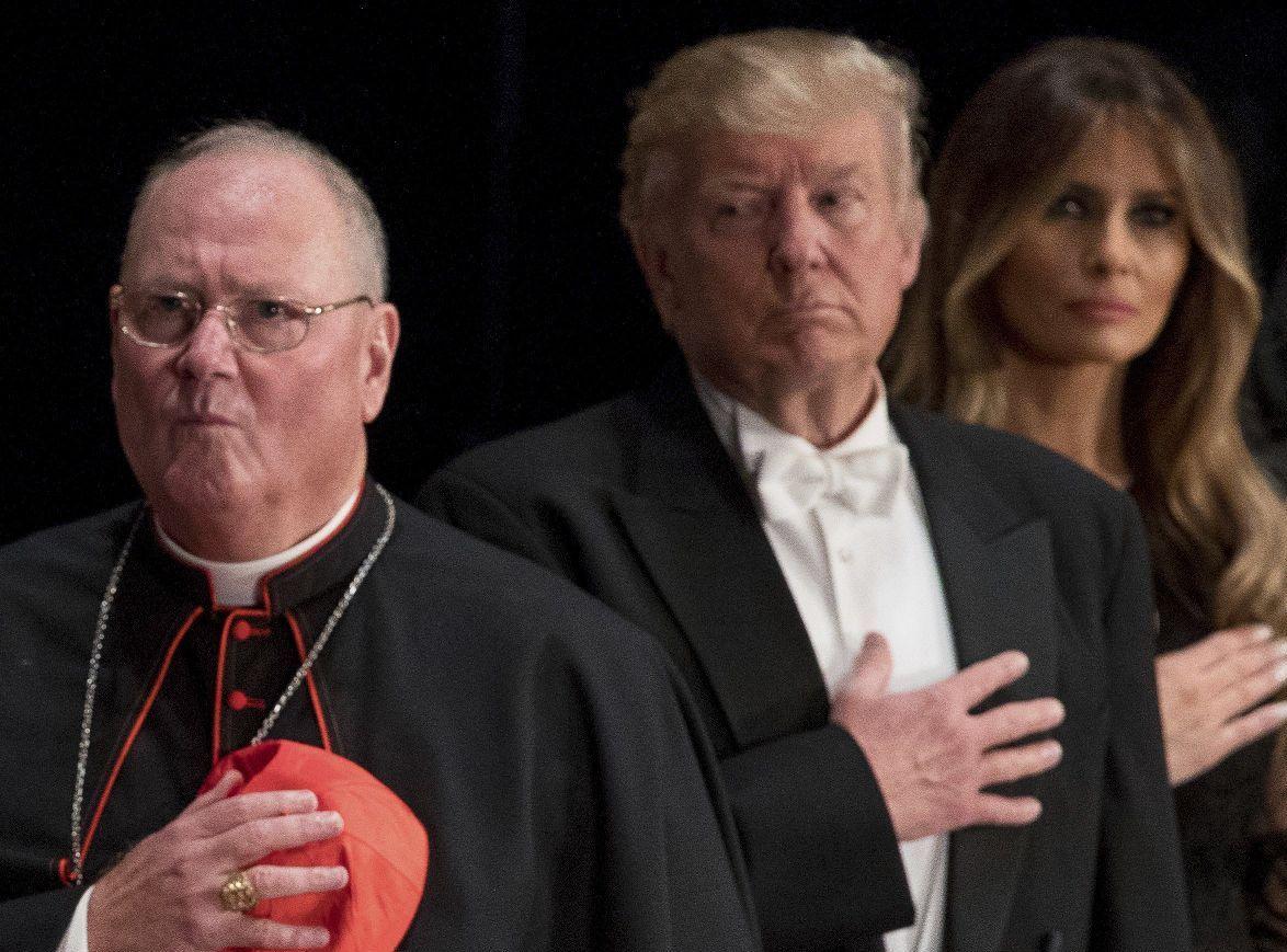 Трамп пообещал отстаивать христианские ценности вместе с католиками