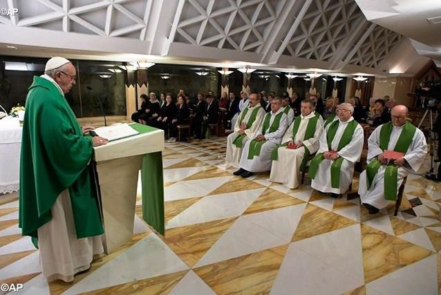Папа: служить Богу в свободе, отвергая властолюбие и неверность