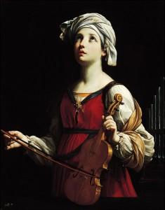 Святая Цецилия - покровительница церковной музыки