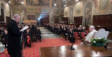 Семинар для епископов по новому каноническому матримониальному процессу. Папа: никто не должен считать себя чуждым Телу Христову