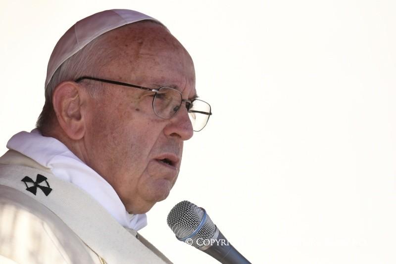 Проповедь Папы Франциска на Мессе закрытия Юбилейного Года Милосердия в торжество Христа Царя, 20 ноября 2016 г.
