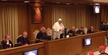 Папа Франциск принял участие в заседании XIV ординарной сессии Совета генерального секретариата Синода епископов