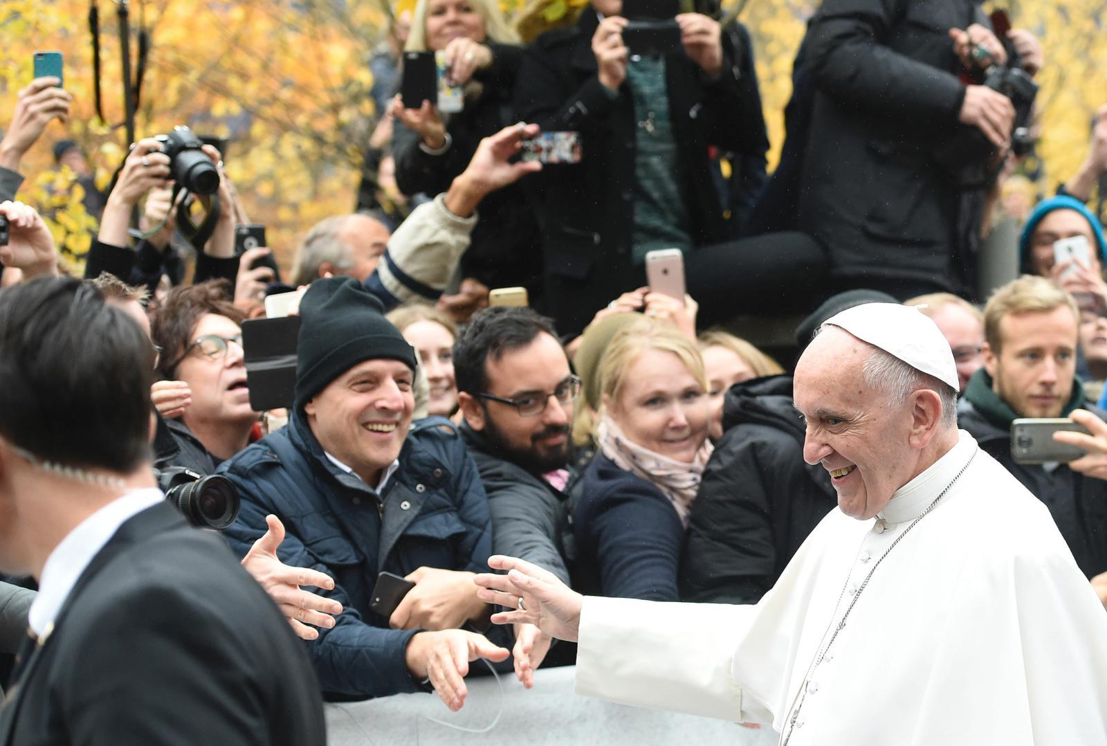 Завершился Апостольский визит Папы Франциска в Швецию