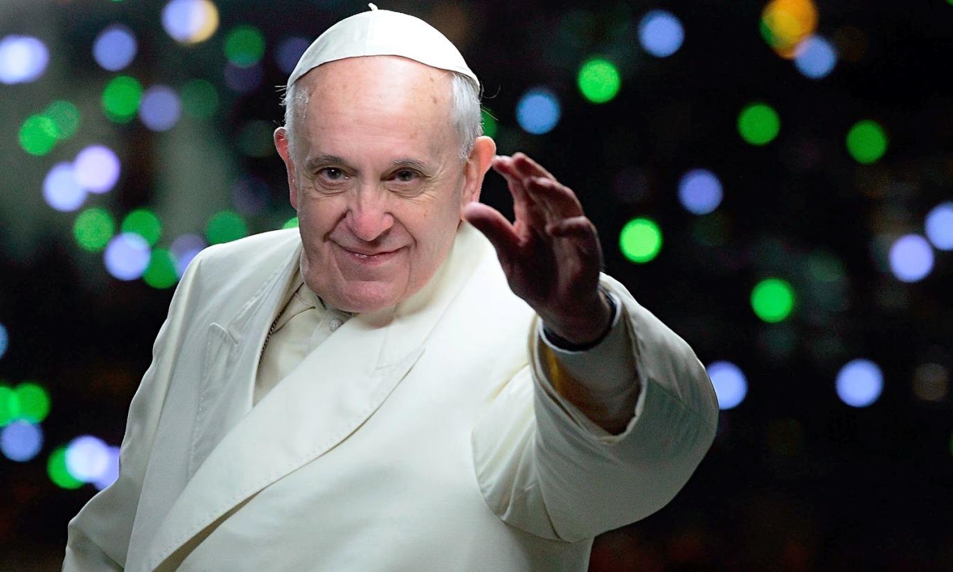 Святейший Отец записал поздравление с Рождеством Христовым на языке жестов