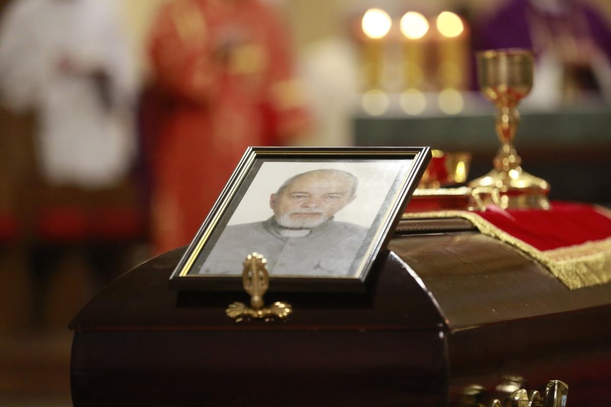 В Москве простились со священником Виктором Даниловым