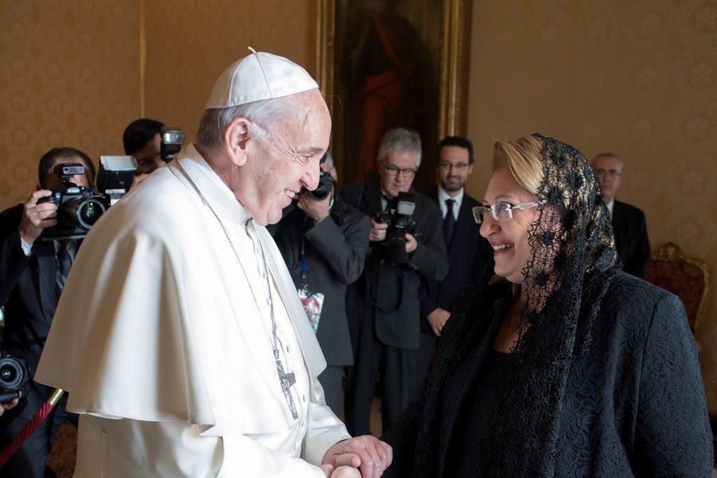 Папа встретился с президентом Мальты