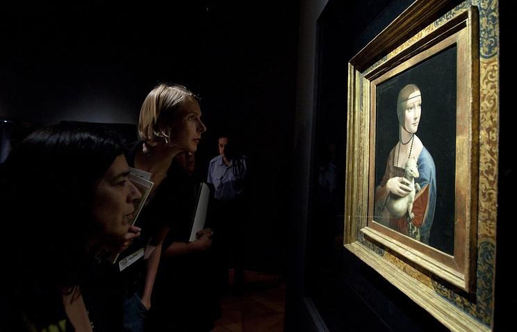 Польша выкупила «Даму с горностаем» Леонардо да Винчи у наследников Чарторыйских