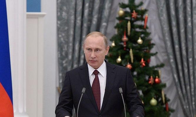 Путин поздравил Папу Римского с Рождеством и Новым годом