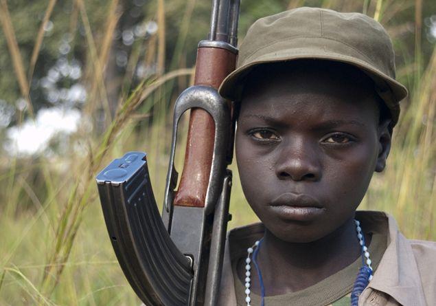 Папа призывает молиться о том, чтобы нигде в мире не было детей-солдат
