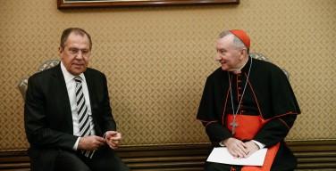 Госсекретарь Ватикана и глава российского МИДа обсудили сотрудничество в культурно-гуманитарной сфере