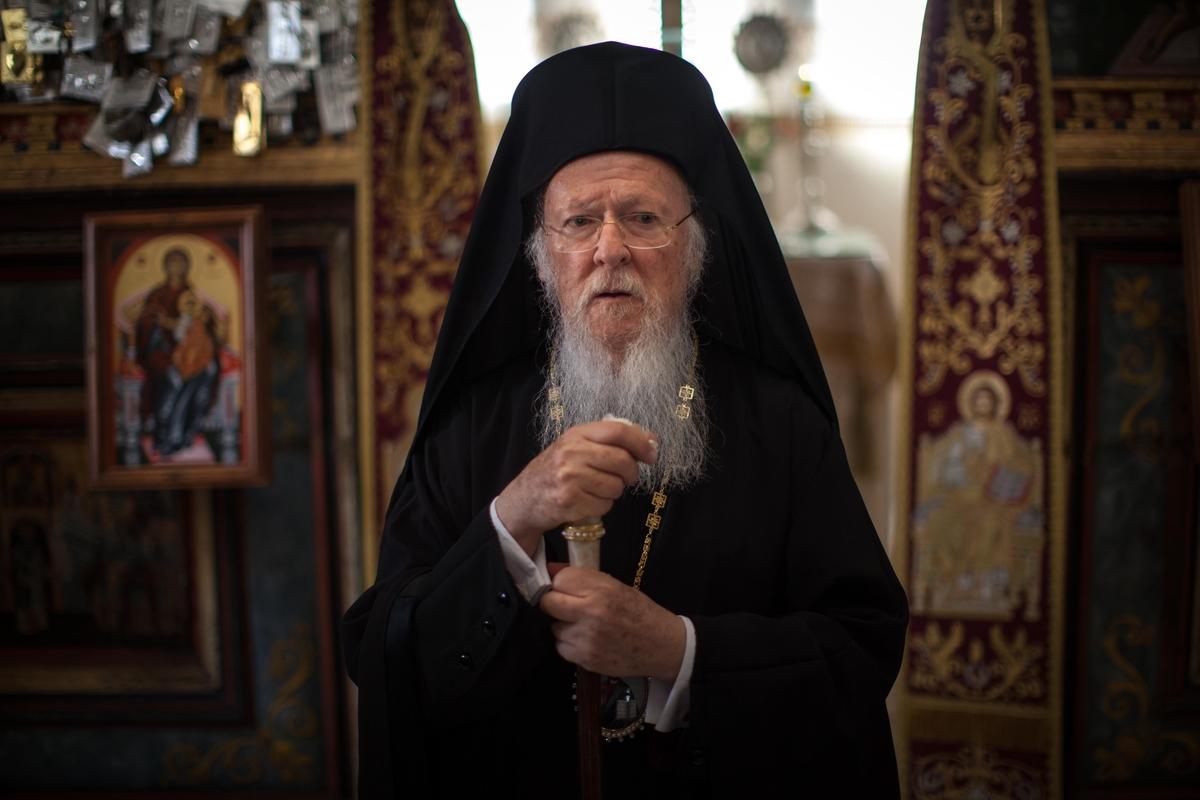 Делегация Святейшего Престола вручила Патриарху Варфоломею послание от Папы Франциска