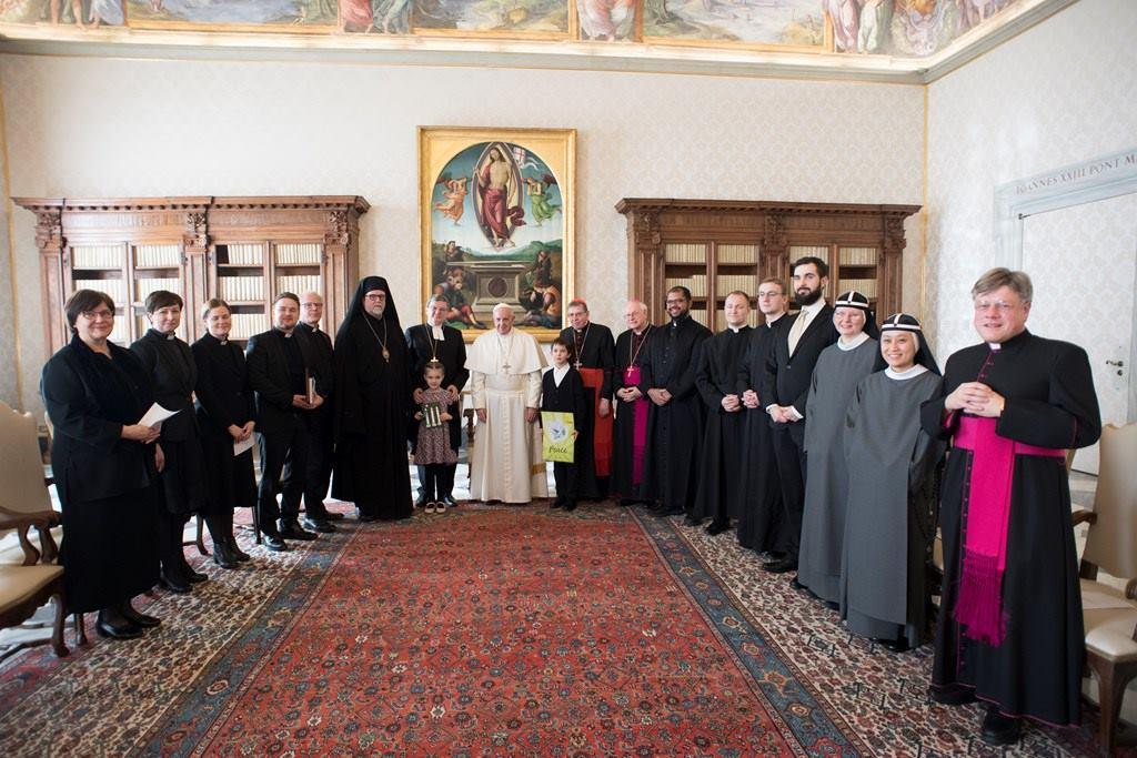Папа принял экуменическую делегацию христиан из Финляндии
