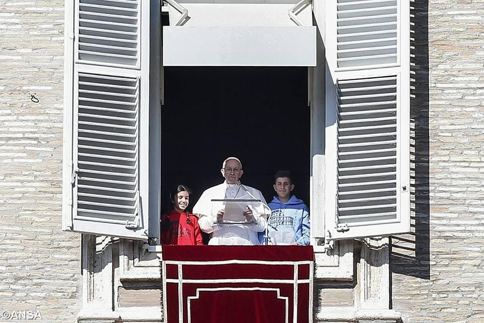Слово Папы Франциска перед молитвой «Ангел Господень». 29 января 2017 года