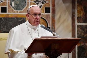 POPE ADDRESS DIPLOMATS