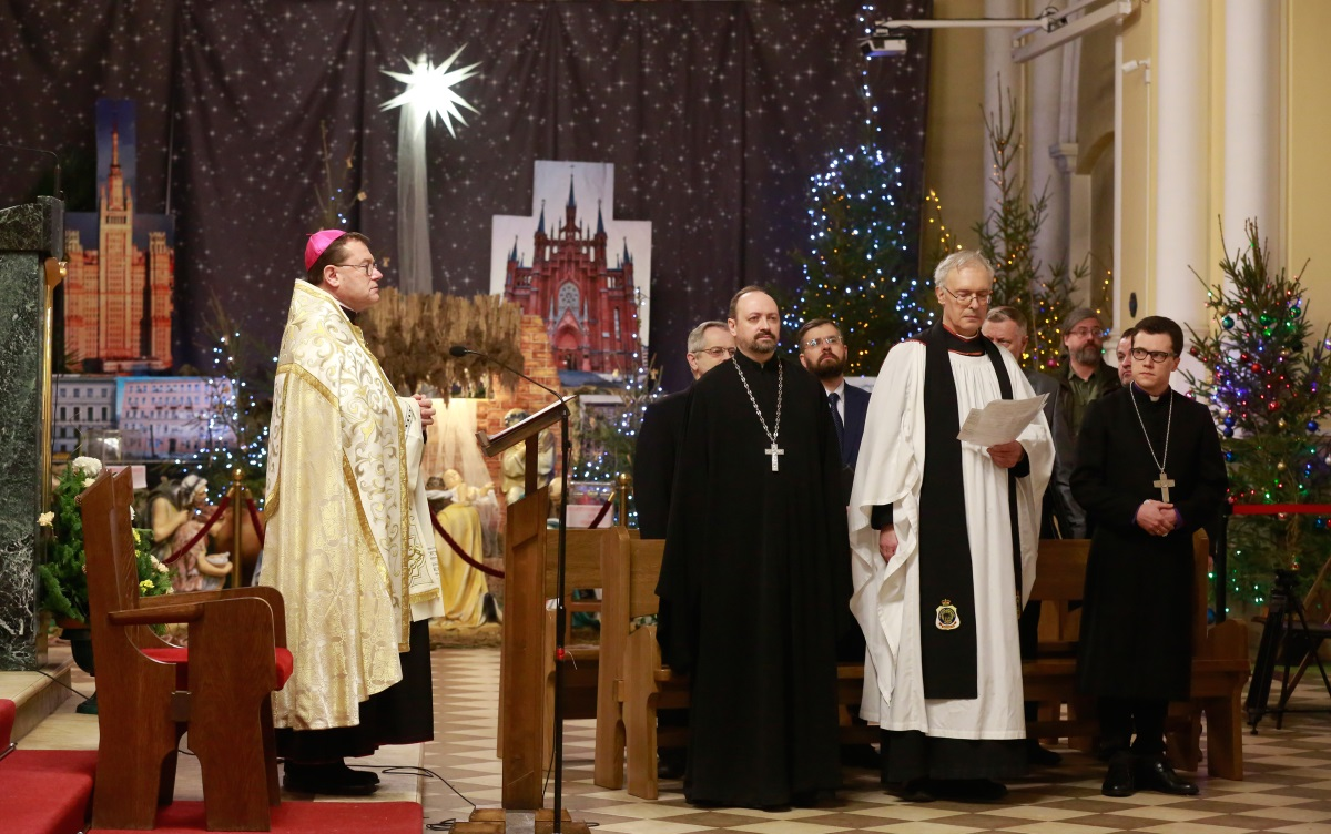 «Любовь Христова объемлет нас». Молитва о единстве христиан состоялась в Москве