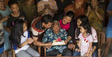 В Новый год старейший житель Земли отметил 146-й день рождения