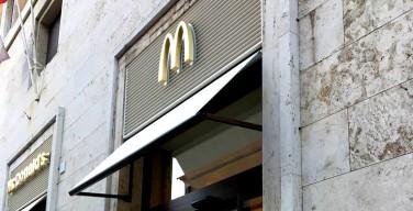 В Ватикане впервые открылся «Макдональдс»