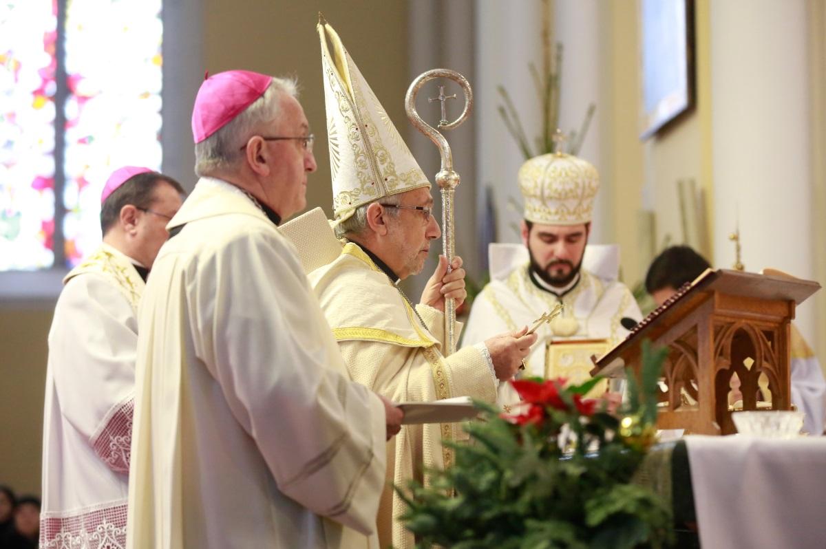 Архиепископ Рафаэль Минасян посетил общины армян-католиков на территории Архиепархии Божией Матери в Москве