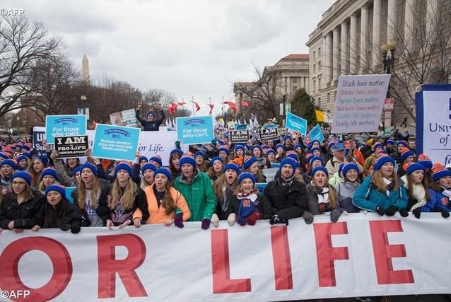 Папа направил послание участникам американского «Марша в защиту жизни»