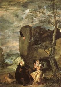 Диего Веласкес. Святой Антоний и святой Павел