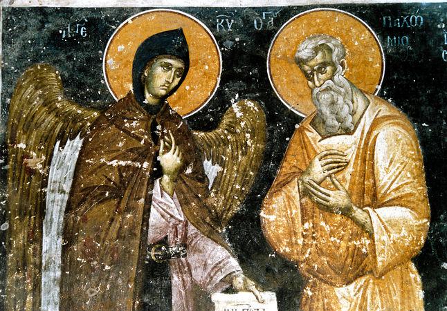 Святой Антоний - наставник монашества
