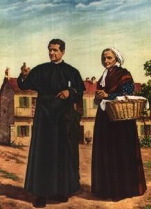 Священник дон Боско и Мама Маргарита