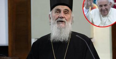 Папский визит в Сербию маловероятен в ближайшее время – Патриарх Ириней