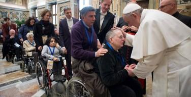 Всемирный день больного. Папа: больные – драгоценные члены Церкви