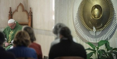 Папа: пусть священный стыд поможет нам победить соблазны амбиций, которые есть даже в Церкви