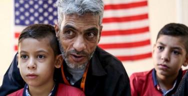 Семьи сирийских христиан были задержаны в аэропорту США в момент прибытия и высланы обратно