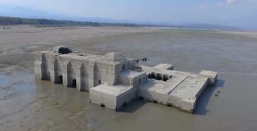 В Мексике из-под воды вновь показался 400-летний доминиканский храм
