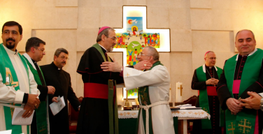 Лютеранский епископ Святой земли удостоен премии мира Нивано