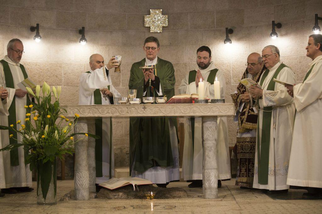 В Святой Земле восстановлен храм Приумножения хлебов, сожженный экстремистами