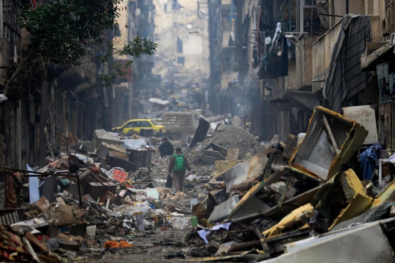 Каритас: ситуация в разоренном войной Алеппо выглядит как пост-апокалиптическая