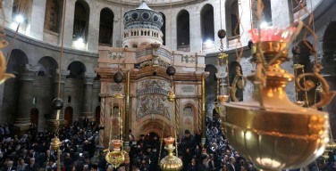 Послание кардинала Сандри по случаю окончания реставрации Кувуклии