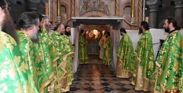 Патриарх Феофил поблагодарил мусульман за помощь в реставрации Кувуклии