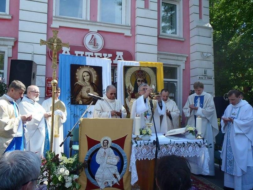 Католическая община прихода Иисуса Христа Царя Вселенной восстановит храм в центре Барнаула
