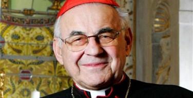 Соболезнования Папы в связи со смертью чешского кардинала Мирослава Влка