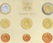 Со 2 марта 2017 г. ватиканские монеты — без изображения Папы Римского