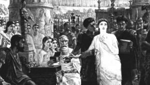 Св. Перпетуя на суде